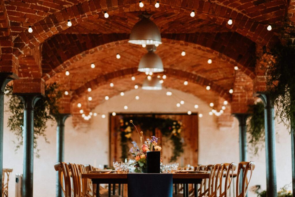 colorful autumn wedding in palac debina