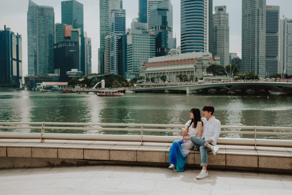 engagement session in singapore