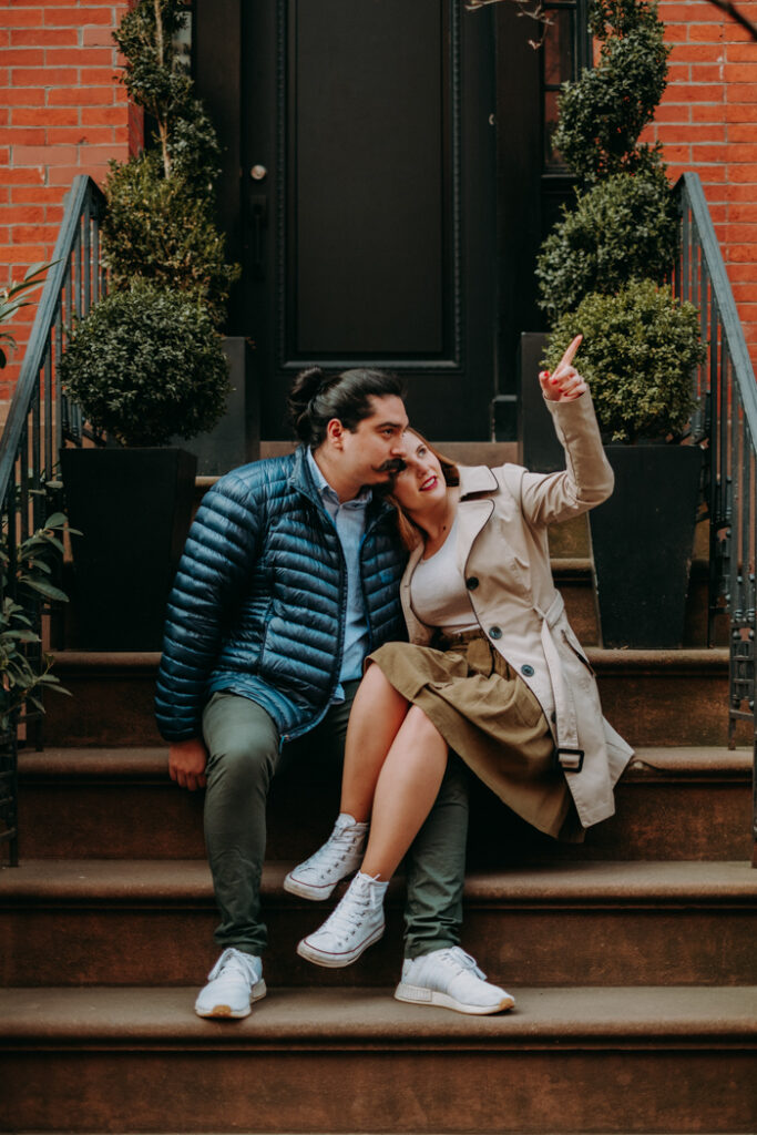 engagement session in west village