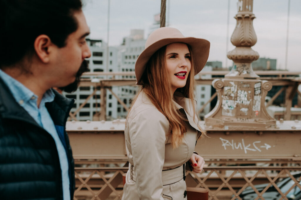 engagement session in new york city