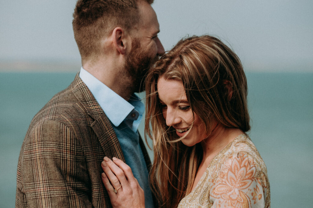 engagement session old harry rocks in studland