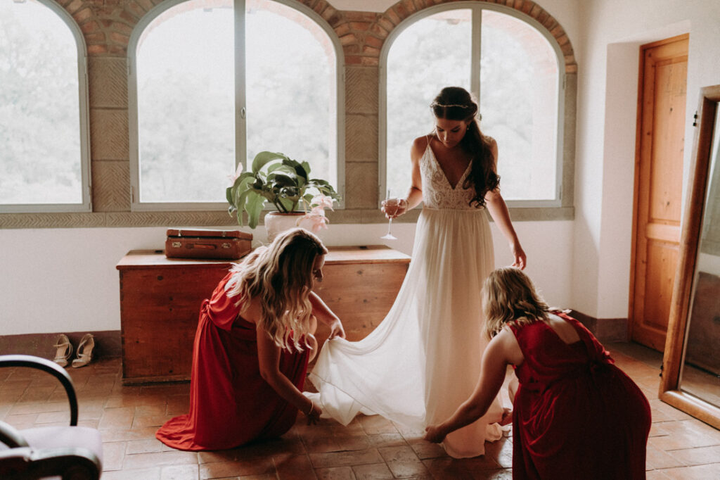 wedding in tuscan villa